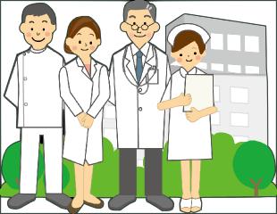 医院の案内のイメージ
